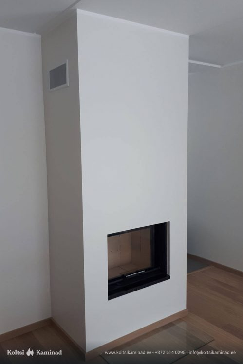 Moderne kamin Romotop Heat 66.50.01 kaminasüdamik