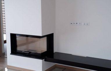 Moderne kamin Romotop Heat kaminasüdamik