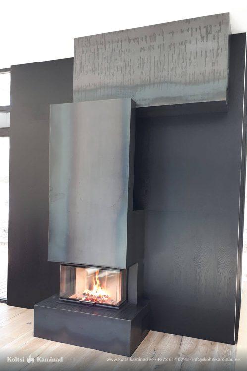Moderne sisekamin Romotop Heat C 81.52.31.01 kaminasüdamik